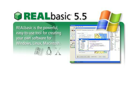 Click here for more information about REALbasic, or to sign up for a FREE DEMO